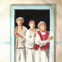 At Door (LR)